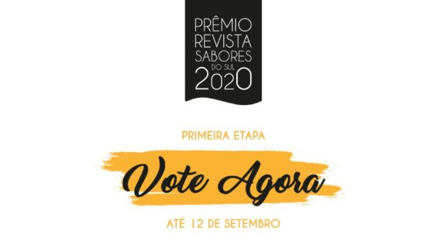 primeira etapa prêmio sabores do sul 2020