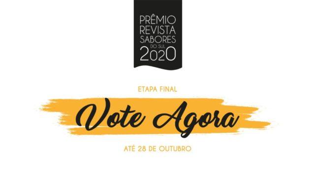 premio revista sabores do sul 2020 etapa final